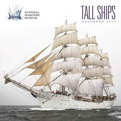 National Maritime Museum - Tall Ships Official Wall Calendar 2017