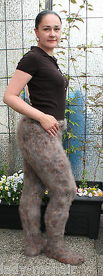 silky soft fuzzy kid mohair sweater Strumpfhose tights Willywarmer S- L