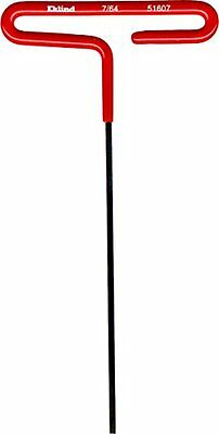 "Eklind 51607 Standard Cushion Grip T-Handle Hex Key 7/64"" x 6"""