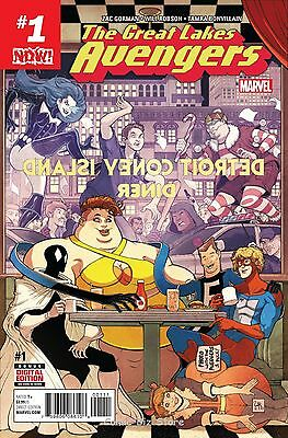 Great Lakes Avengers #1 (2016) 1St Printing Bagged & Boarded Marvel Now