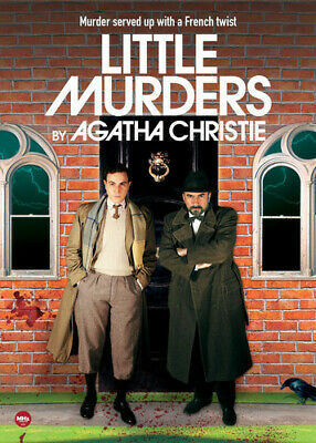 Little Murders By Agatha Christie (2016, DVD NUEVO)3 DISC SET (REGION 1)