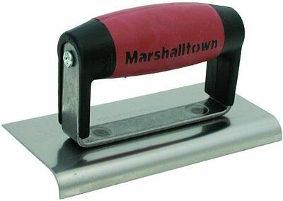 MARSHALLTOWN The Premier Line 36D 6-Inch by 3-Inch Edger with DuraSoft Handle