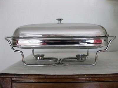 Leonard silverplated 2 qt chafing dish food warmer eur for Sur la table 6 quart