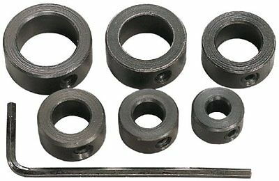 General Tools S838 7 Piece 3/16-Inch to 1/2-Inch Drill Stop Set