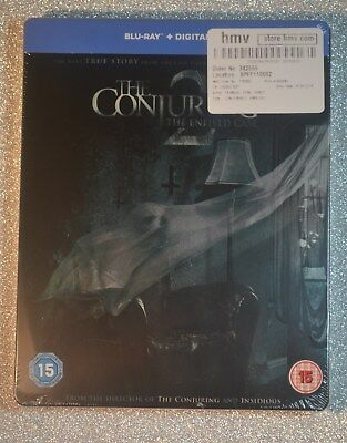 The Conjuring 2 Steelbook Bluray UK Edition REGION FREE *New & Sealed*