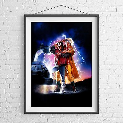 BACK TO THE FUTURE 2 CULT CLASSIC MOVIE POSTER PICTURE PRINT Sizes A5 to A0 *NEW