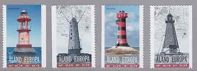 ALAND - 2008 - Lighthouses. Complete set, 4v. Mint NH
