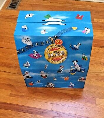 McDonalds Happy Meal Toys 102 Dalmatians Complete set NEW in carrying case
