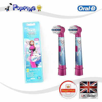 Braun Oral-B Kids Stages Power Disney Princess Toothbrush 2  Heads Extra Soft