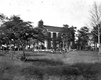 New 11x14 Civil War Photo: Beauregard's Headquarters at 1st Bull Run, Manassas
