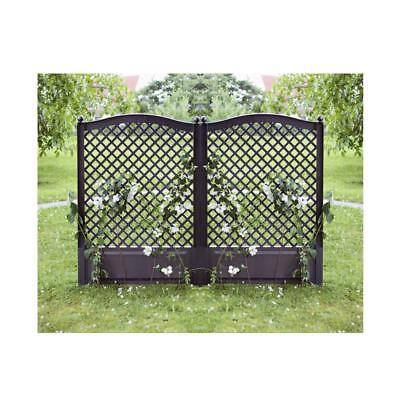 holz gartenspalier rankgitter pflanzkasten blumenbeet blumenk bel 40x40x135 cm eur 20 99. Black Bedroom Furniture Sets. Home Design Ideas