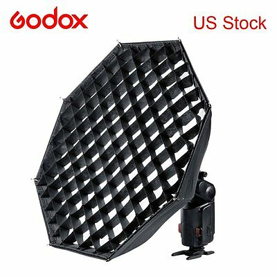 Godox AD-S7 Grid Octagonal Softbox Speedlit Flash Folding for Wistro AD180 AD360