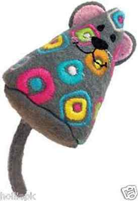 Kong Tropics Mouse Premium Catnip Toy With Crinkle Sound