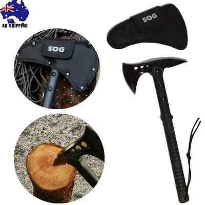 Stainless Steel Axe Hatchet Blade Knife Camping Hunting Outdoor Wood OKNI33005