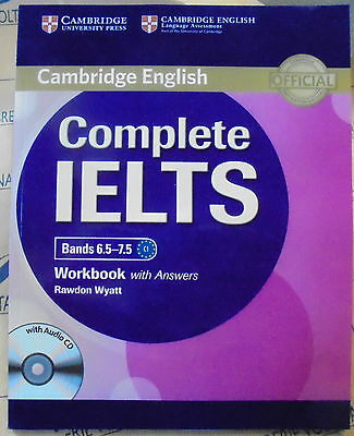COMPLETE IELTS BANDS 6.5-7.5 WORKBOOK with ANSWERS con CD AUDIO -CAMBRIDGE