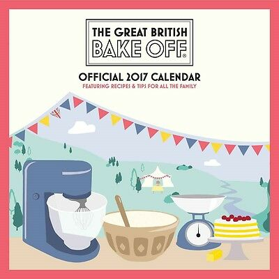 The Great British Bake Off Official Wall Calendar 2017