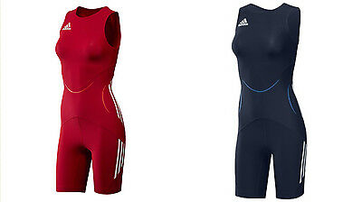 ADIDAS Wrestling CLASSIC WOMENS SUIT - Navy Red