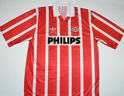 1990-1994 Psv Adidas Home Football Shirt (Size L)