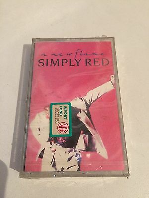 Simply Red - A New Flame MC cassetta tape Sealed