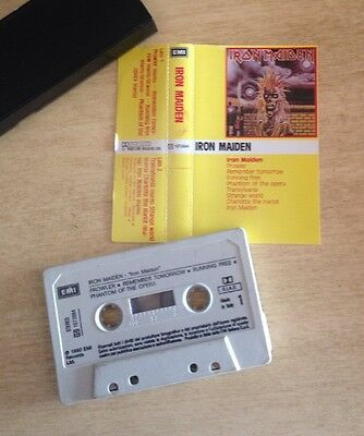 Iron Maiden - Same MC Cassette Tape Made In Italy 541072694 Omonimo