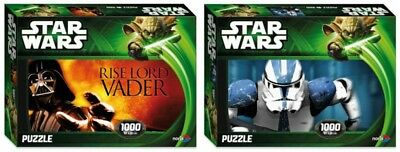 Noris Star Wars Puzzle 1000 Teile Lord Vader Stormtrooper Episode 2 & 3