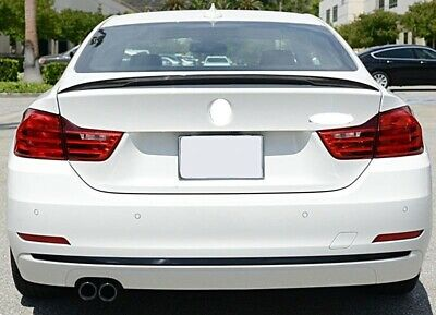 BMW F32 Coupe 4 Series Rear Boot Trunk Spoiler Lip Wing Sport Trim Lid M4 M-