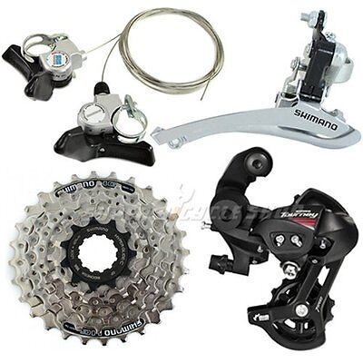 SHIMANO A050 3 (2) x 7 Speed Road Groupset 4 pcs