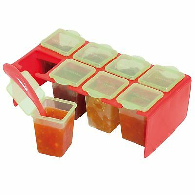 Clevamama Clevaportions Solid Food Weaning Freezer And Storage Pots BPA Free