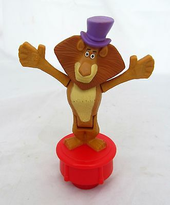 McDonalds Toy Madagascar Dancing Alex Lion Figurine Figure Birthday Cake Topper