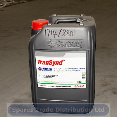 Castrol Transynd 20L Automatic Transmission Fluid ATF 20 litres