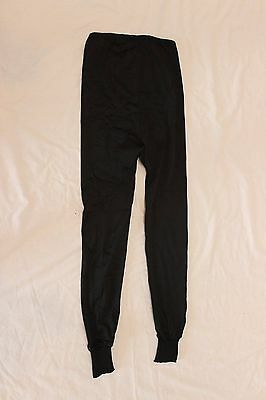 NOS Vintage Moa Cycling Bike Tights Pants Black Leather Chamois Large 5 L'Eroica