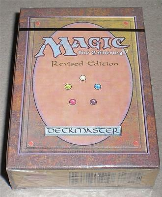 MTG MAGIC THE GATHERING 3rd REVISED EDITION STARTER DECK FACTORY SEALED NEW RARE