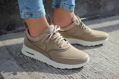Nike Air Max Thea Desert Camo Beige Size 3 Kendall Jenner