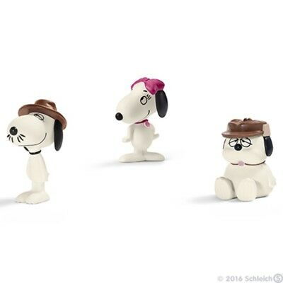 Snoopy's Siblings Scenery Pack by Schleich - Peanuts / Charlie Brown - 22058