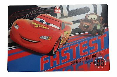 Zak! Design Disney Cars 18 In. Placemat ~ BPA FREE