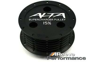 Mini cooper S R52/R53 15% Alta supercharger pulley & Belt