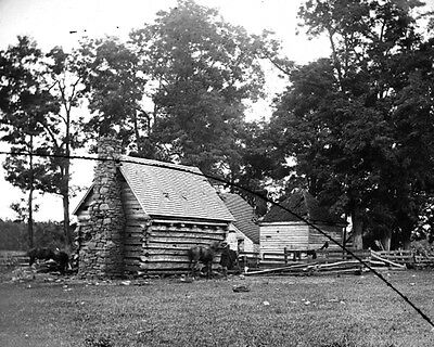 New 11x14 Civil War Photo: Damaged House on the Battlefield of Cedar Mountain