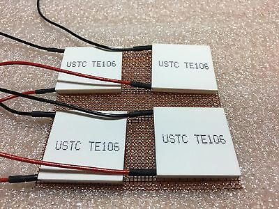 Thermoelectric Modules - High Power Peltier Coolers Kryotherm Lot of 4 TE's