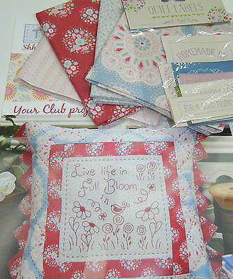 Tilda Club November 2015 Quilting, Sewing, Fabric Single Issue Patchwork Craft