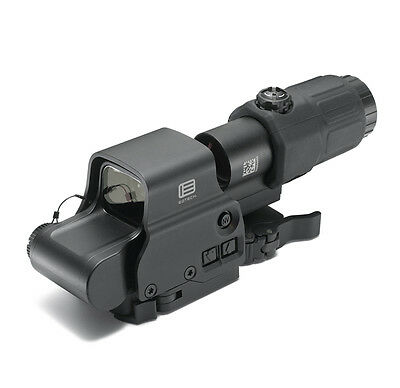EOTech HHS I EXPS3-4 65 MOA Circle (4) 1 MOA Dots Reticle with G33 3x Magnifier