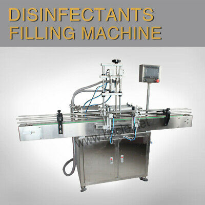 Double Head Automatic Liquid Filling Machine 5-5000ml By sea