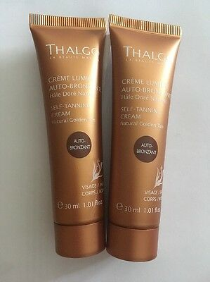 Thalgo Auto Bronze Self Tanning Cream 30 Ml X 2