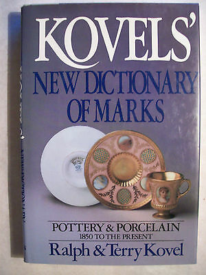 3,500 Pottery & Porcelain Id Marks Markings Trademarks Reference Collectors Book