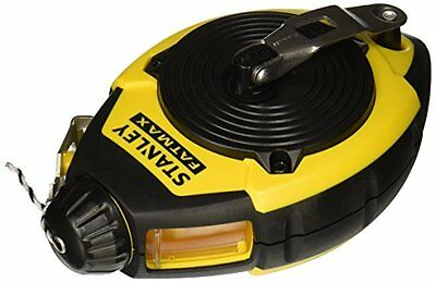 Stanley 47-140 100-Foot FatMax Chalk Line Reel