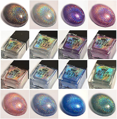 6/10ml BORN PRETTY Holographic Holo Glitter Polish Super Shine Nail Art Varnish