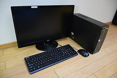 Acer Aspire Desktop Intel Pentium 1TB with Acer Monitor, Mouse and Keyboard