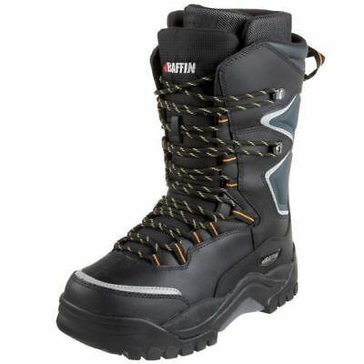 Baffin Lighting Insulated Men's Winter Boots - Black/Charcoal