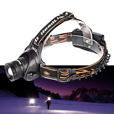 2016 New 2800LM CREE XML T6 LED Rechargeable HEADLAMP Torch HeadLight 18650 ED