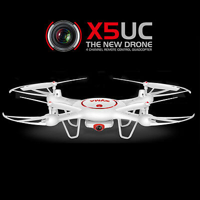 SYMA X5UC 2MP Camera Altitude Hold Mode 2.4G 4CH 6Axis RC Quadcopter Drone RTF