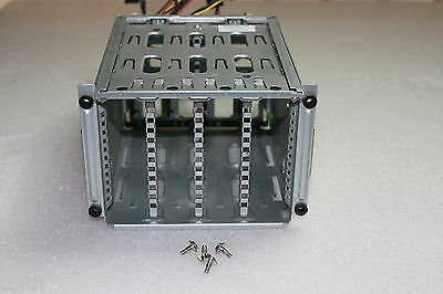HP ML330 G6 SPS-Cage / Drive Cage P/N 466510-001 Spare 519733-001 mit Kabel